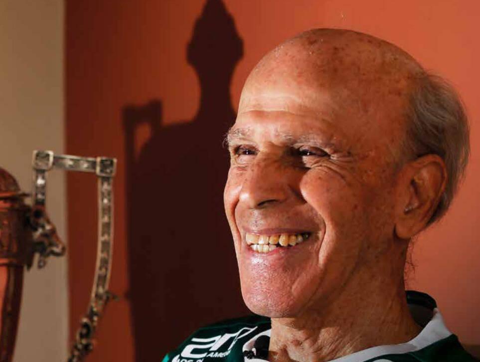 Brandãozinho. Foto: Palmeiras/Divulgação