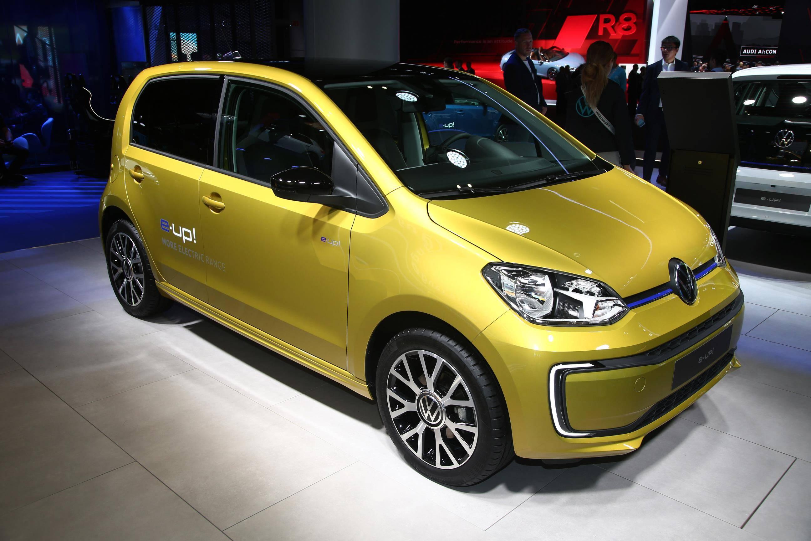 VW e-Up!. Foto: Newspress