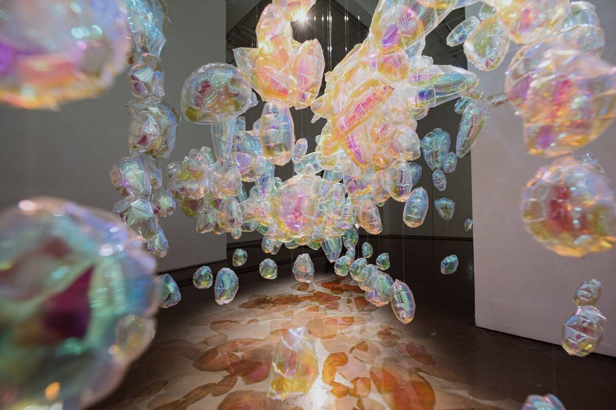 Os artistas Rie Hosokai e Takashi Kawada são os responsáveis pelo desenvolvimento da obra. Foto: Marina Melchers/Divulgação