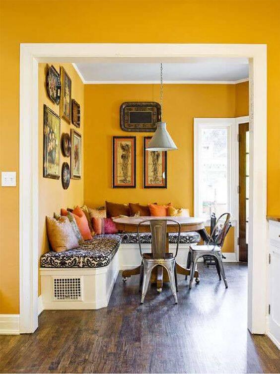 O amarelo remete a vivacidade por ser a cor mais luminosa existente. Foto: Pinterest