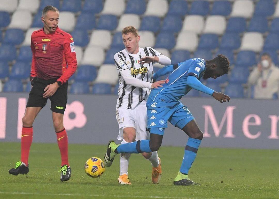 Juventus x Napoli. Foto: Reprodução / Instagram