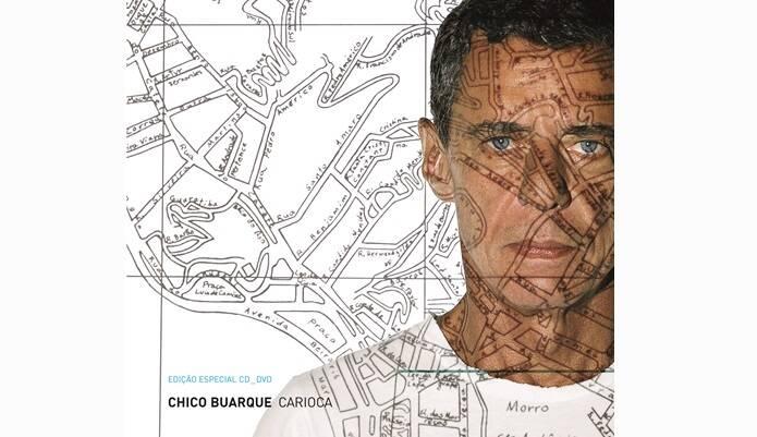 """Capa de """"Carioca"""", lançado em 2006.. Foto: Reprodução/ Divulgação"""