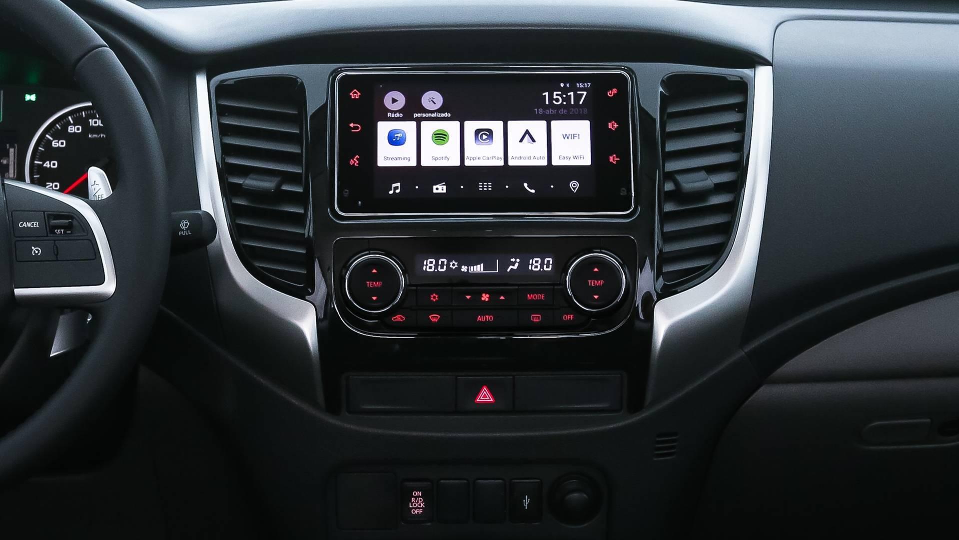 Mitsubishi L200 Triton Sport 2019. Foto: Divulgação