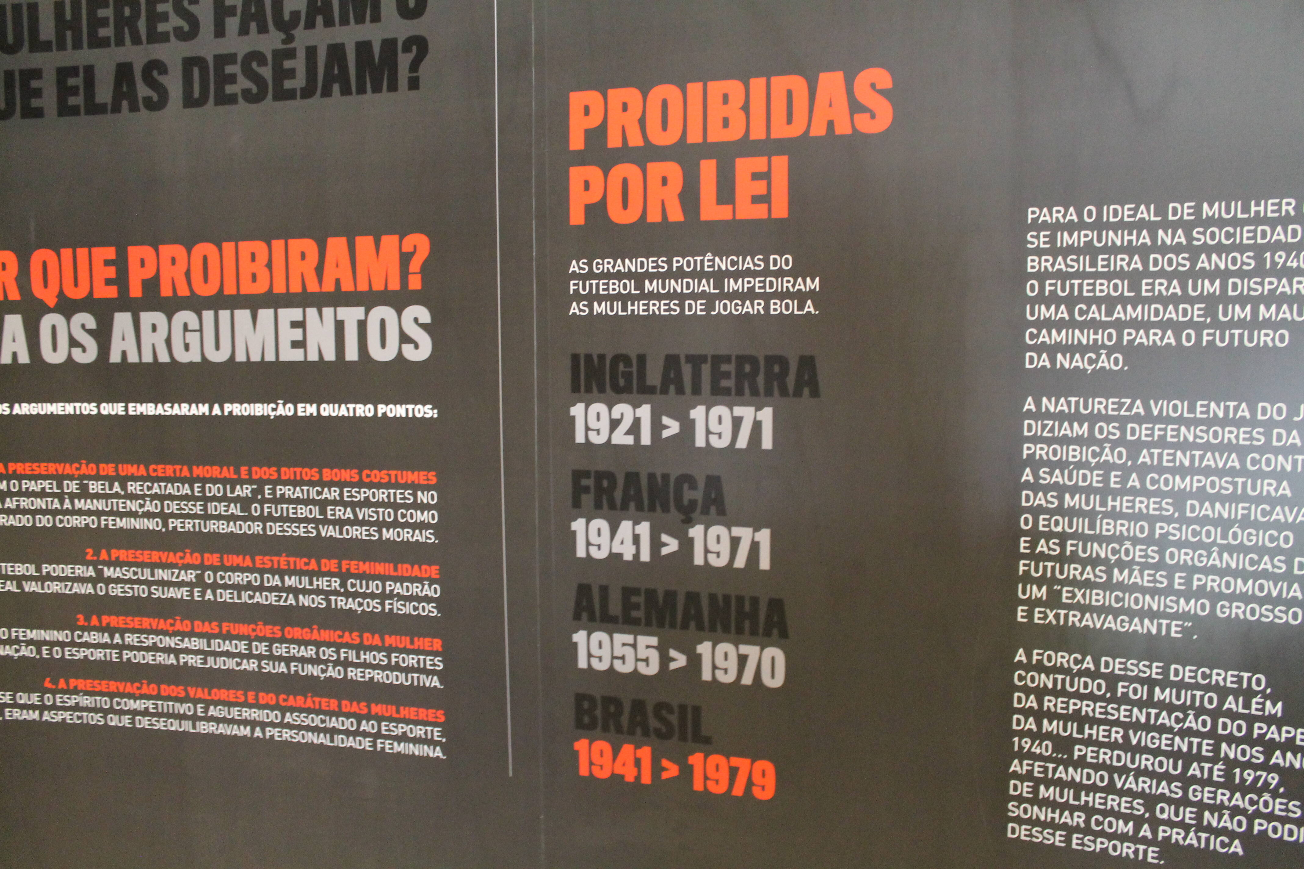 Não foi só o Brasil que proibiu as mulheres de praticarem o futebol. Foto: Flavia Matos/ IG