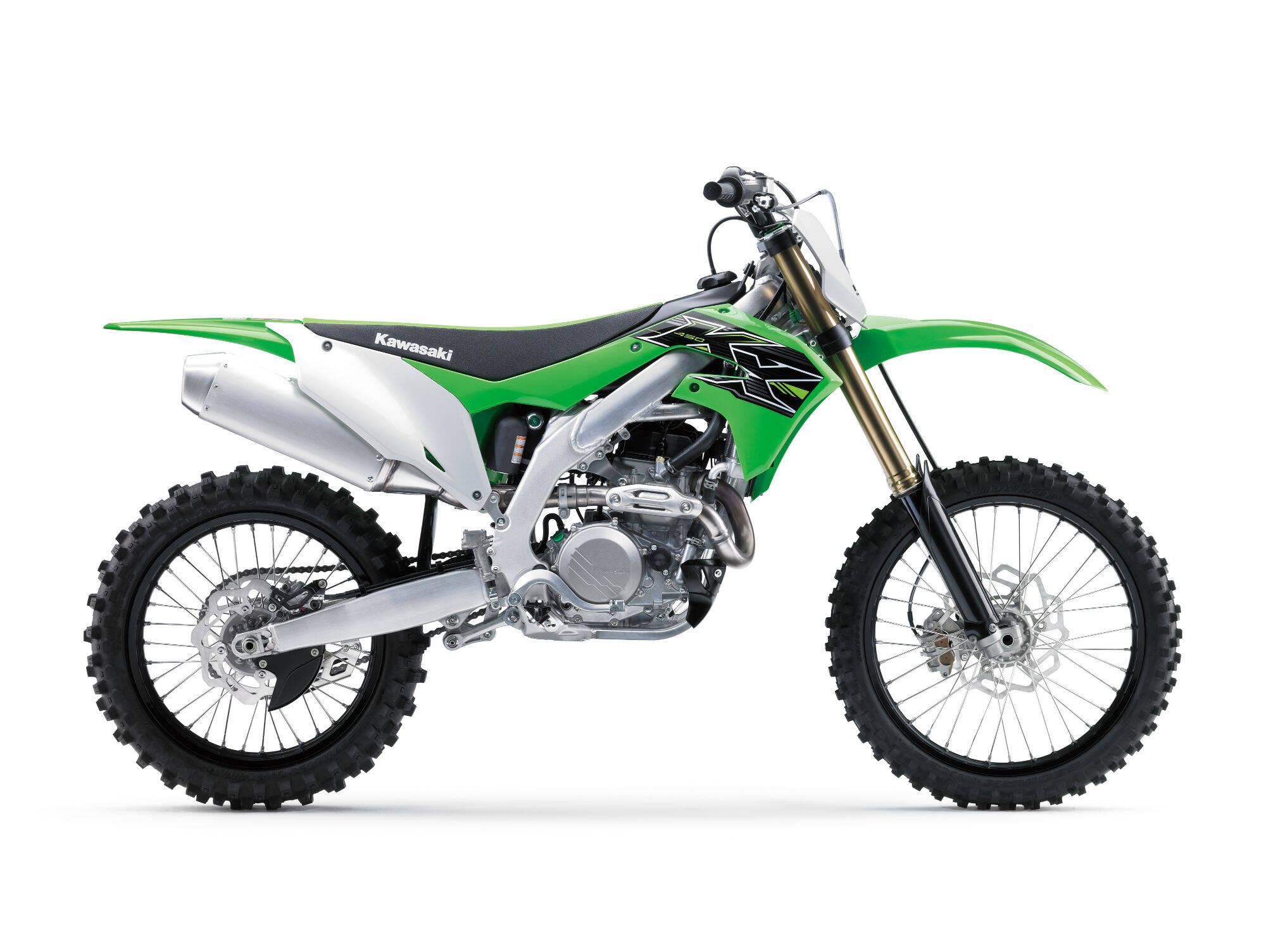 Kawasaki KX450. Foto: Divulgação