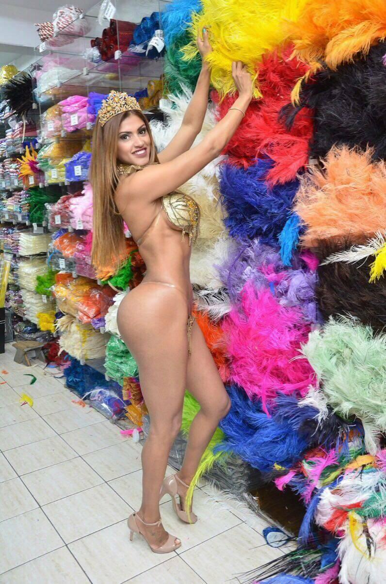 Rosie Oliveira será musa no carnaval de São Paulo. Foto: José Domingos