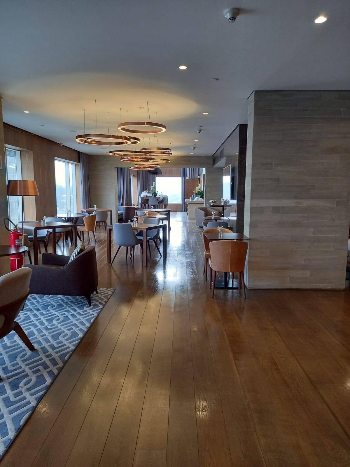 Um dos lounges do hotel. Foto: Portal iG/Camila Cetrone