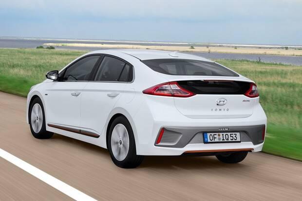 Hyundai Ioniq. Foto: Divulgação