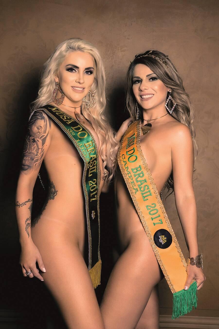 Campeãs do Musa do Brasil tiram a roupa para a primeira Sexy do ano. Foto: Nelson Miranda / M2 Mídia