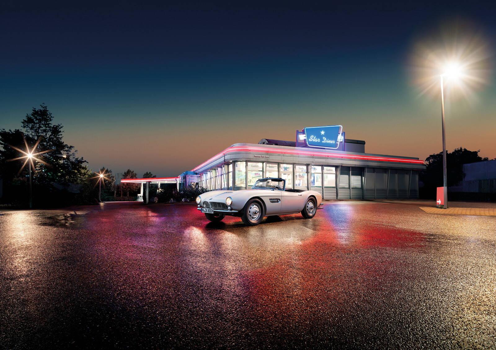 BMW revela como ficou o 507 de Elvis Presley depois de restaurado. Foto: Divulgação