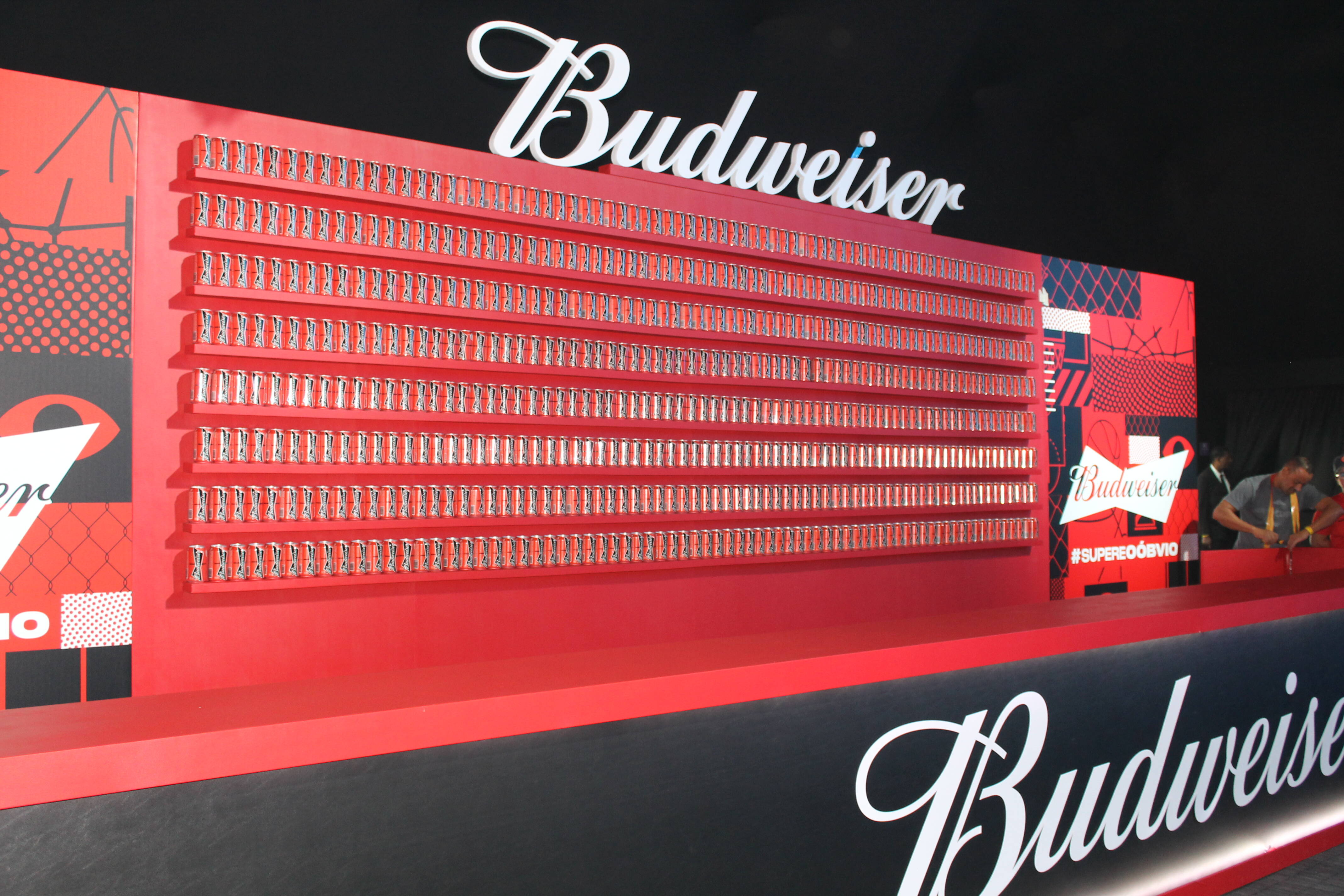 A Budweiser é uma das parceiras da NBA House 2019. Foto: Flavia Matos/ IG