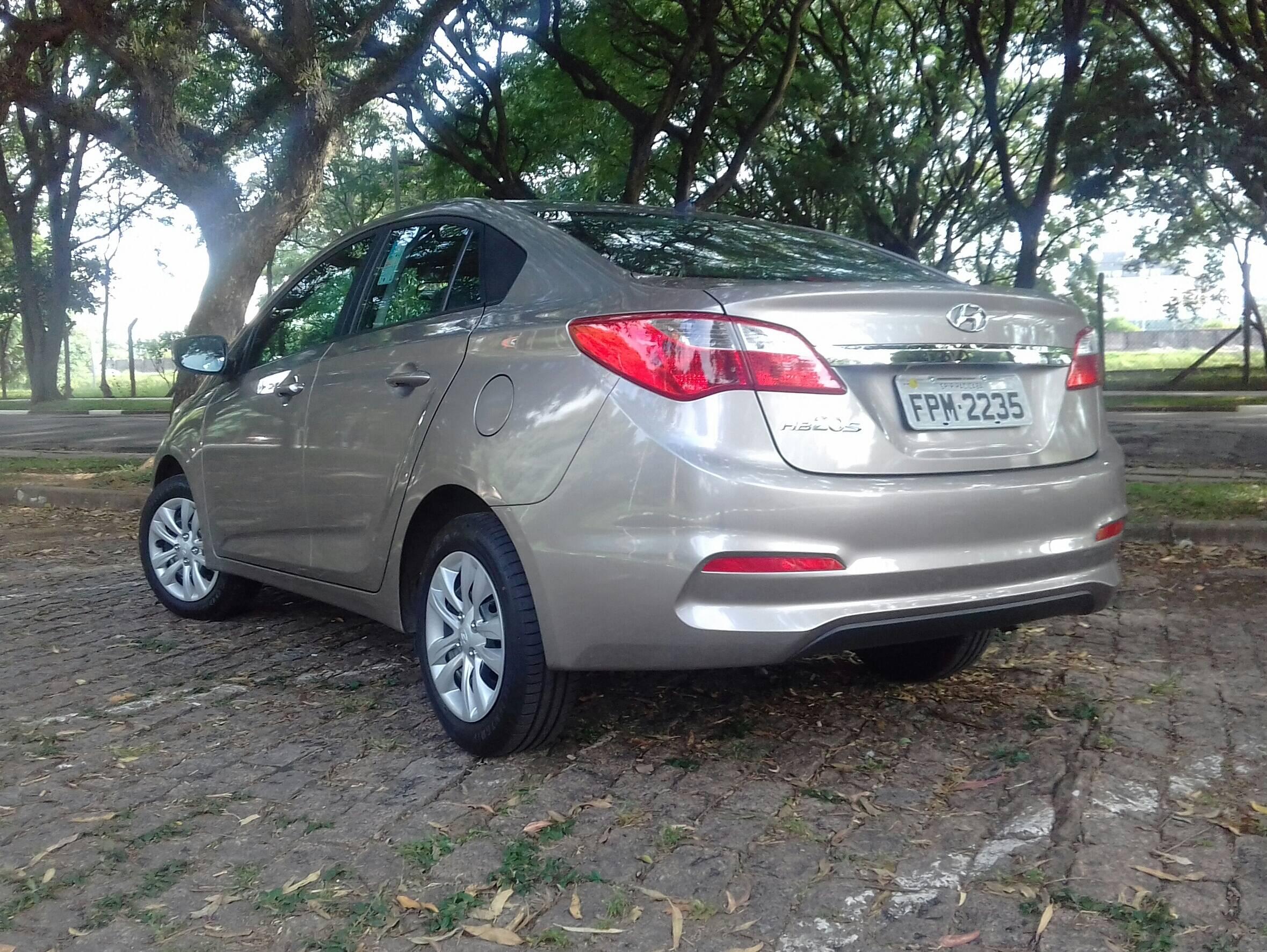 Hyundai HB20S. Foto: Carlos Guimarães/iG