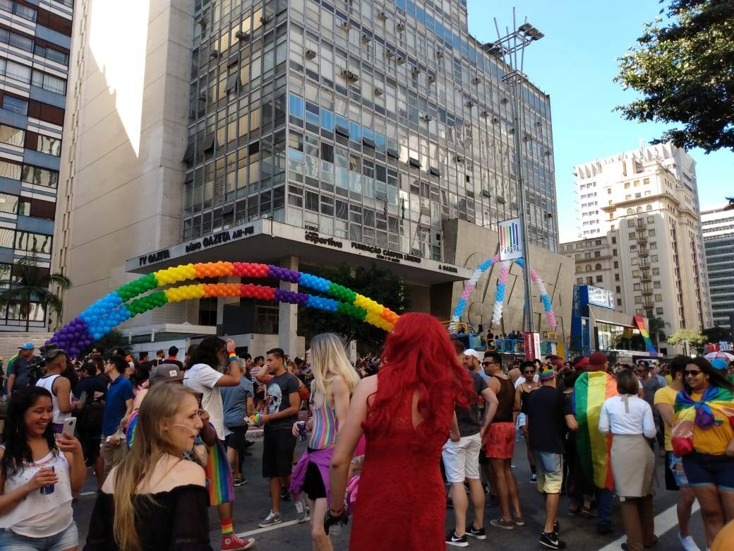 23ª Parada do Orgulho LGBT. Foto: João Cesar Diaz
