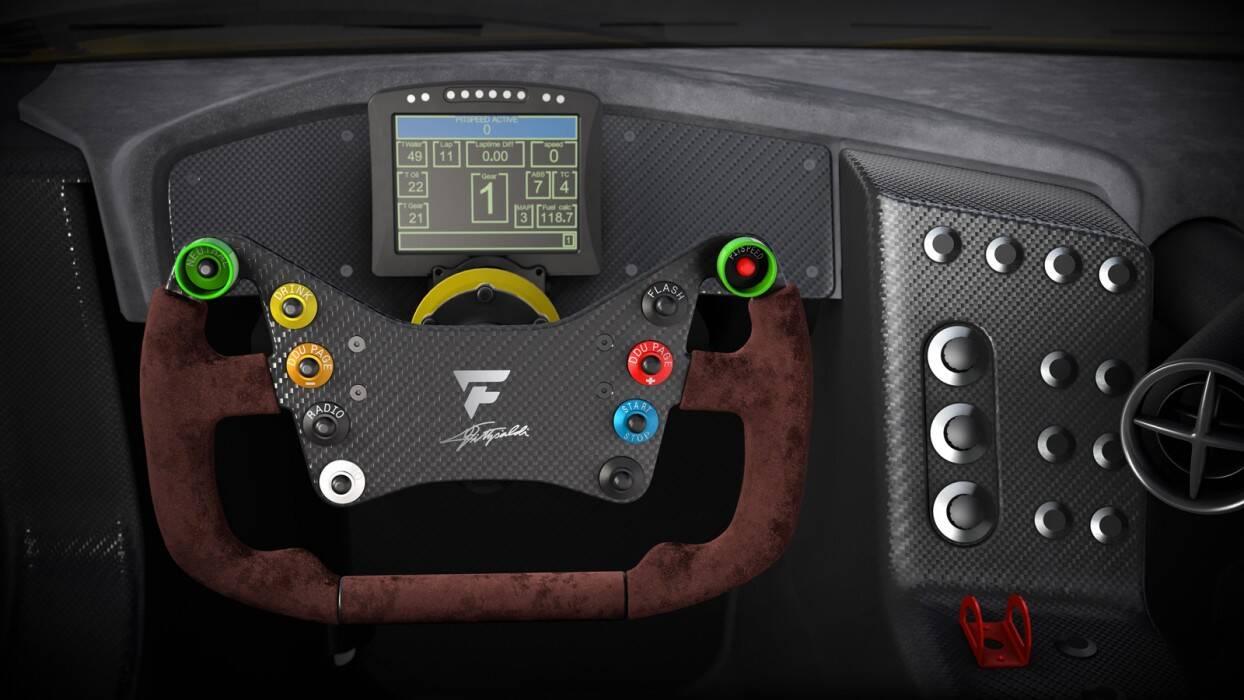 Fittipaldi EF7 Vision Gran Turismo. Foto: Divulgação