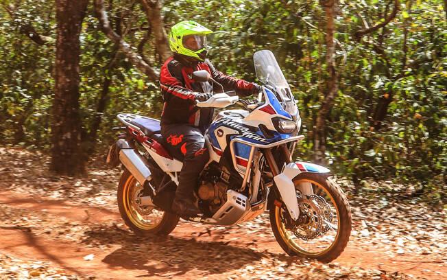 Honda CRF 1000L Africa Twin. Foto: Divulgação