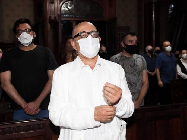 Missa a Sérgio Mamberti: Pascoal da Conceição, o Dr. Abobrinha do Castelo Rá-Tim-Bum. Foto: Marcos Ribas/Brazil News