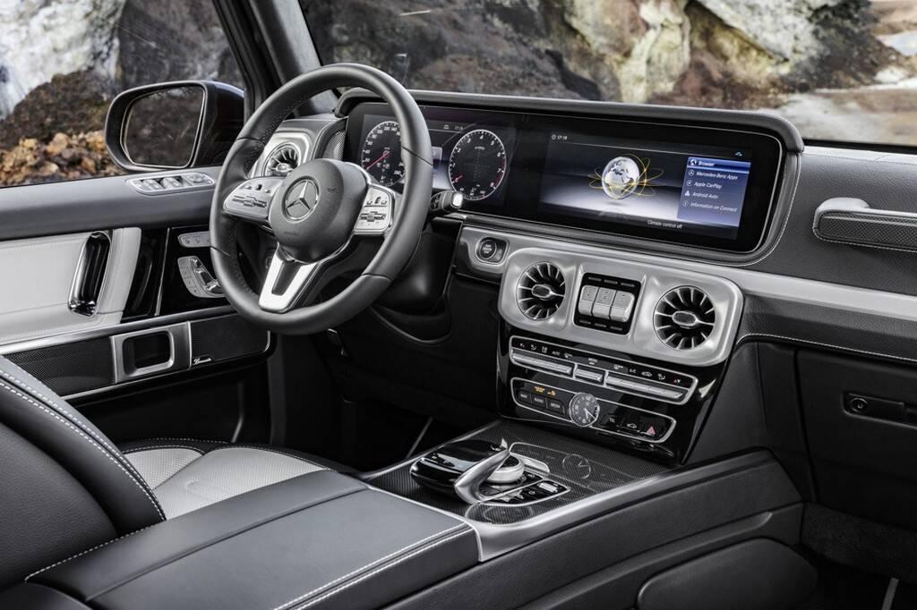 Mercedes-Benz Classe G. Foto: Divulgação
