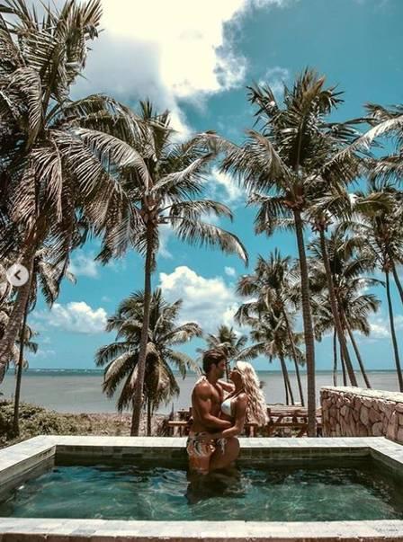 Fotos do casamento de Caroline Bittencourt. Foto: Reprodução / Instagram