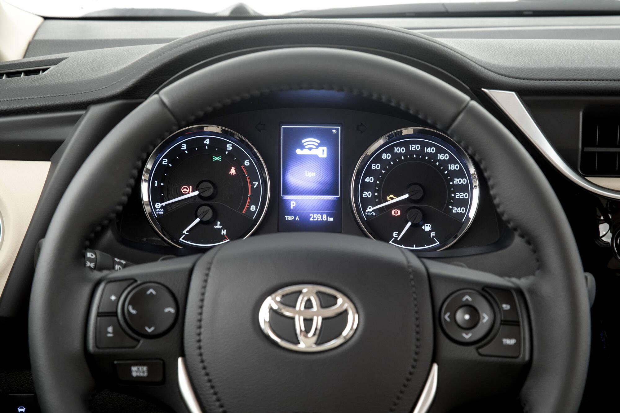 Toyota Corolla Altis. Foto: Divulgação/Toyota