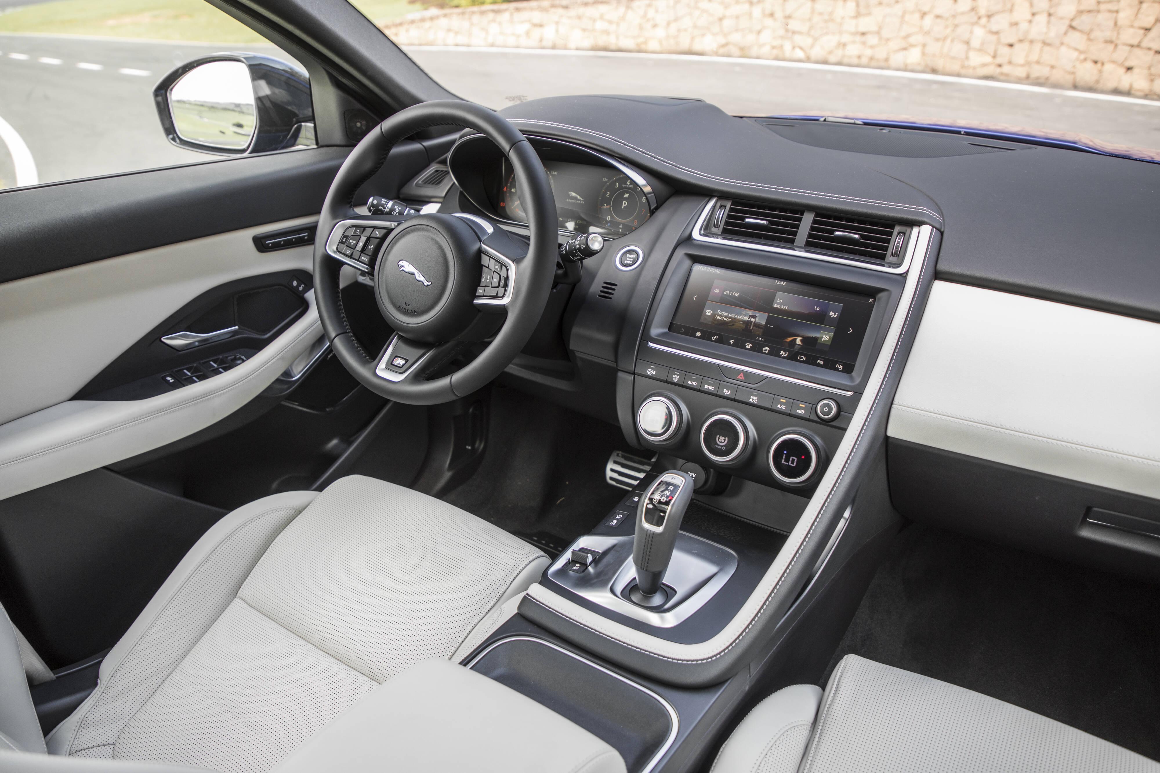 Jaguar E-Pace. Foto: Divulgação