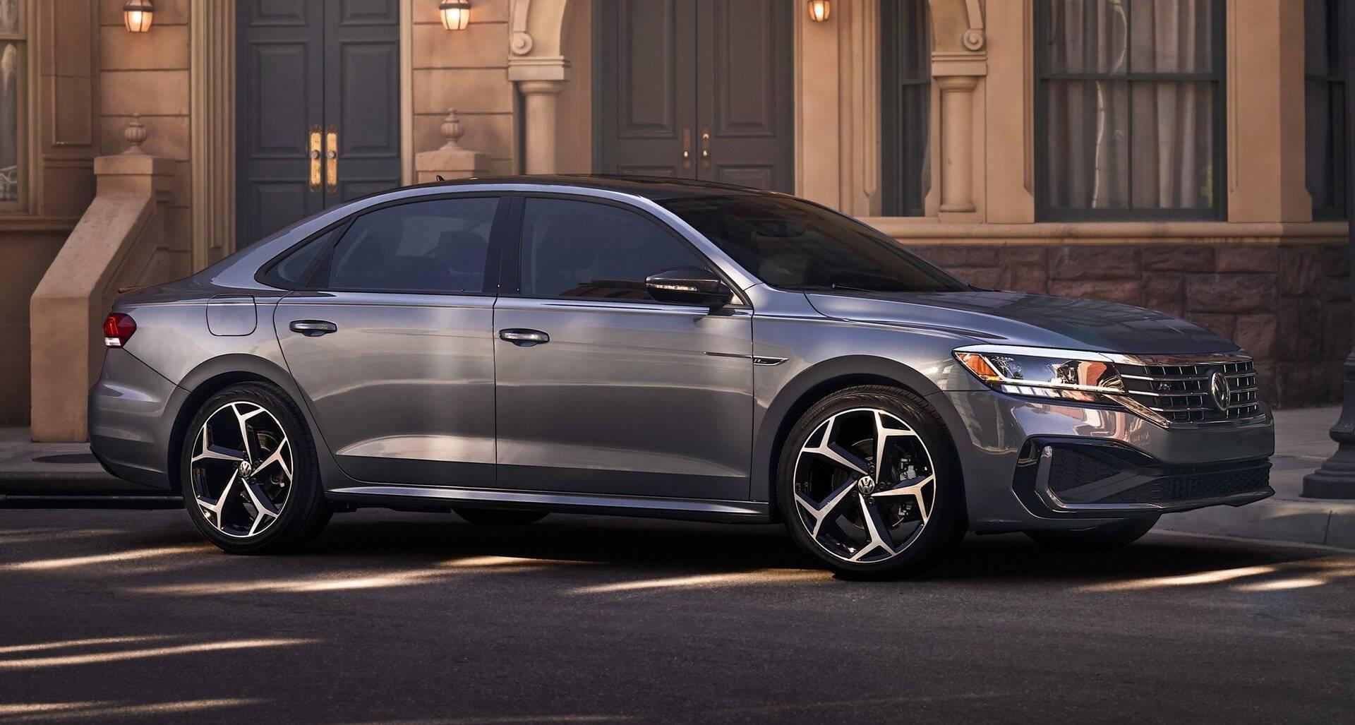 VW Passat 2020. Foto: Divulgação