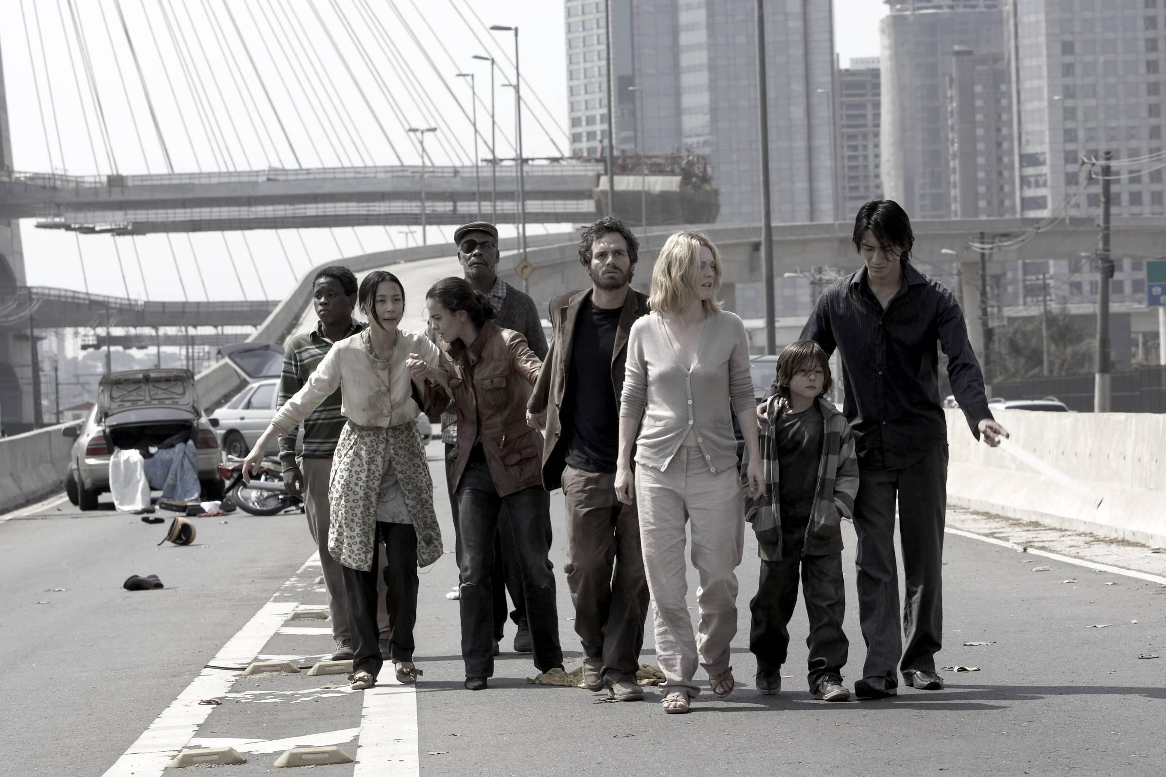 """A Ponte Estaiada também aparece em """"Ensaio Sobre A Cegueira""""; ponte foi construída no mesmo ano em que o filme foi lançado. Foto: Reprodução"""