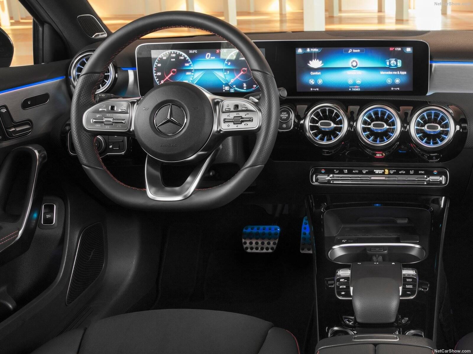 Mercedes Classe A 200 Sedan. Foto: Divulgação