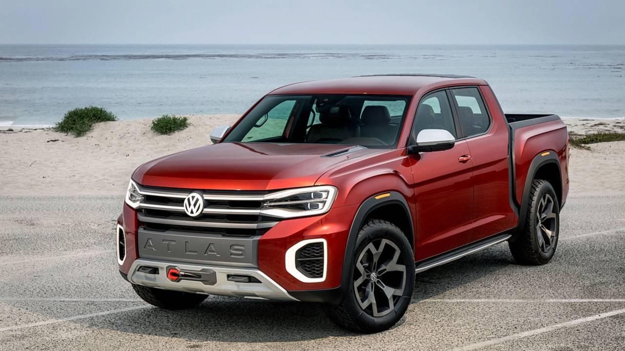 Nova picape da VW. Foto: Divulgação