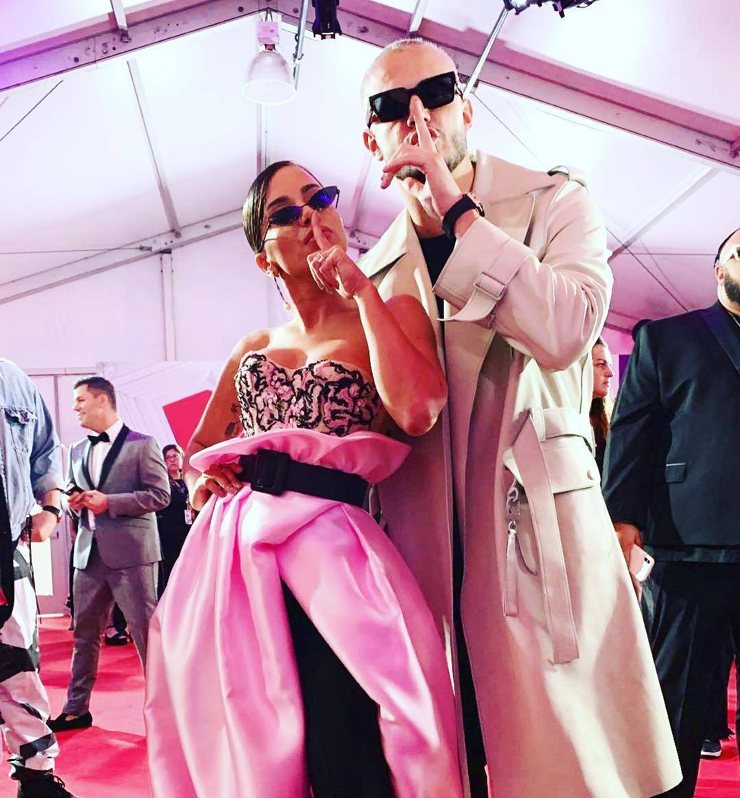 Na noite de quinta-feira (25), Anitta participou pela primeira vez do Billboard Latin, em Las Vegas, e roubou a cena tanto no tapete vermelho, quanto em sua apresentação. Foto: Reprodução/Instagram