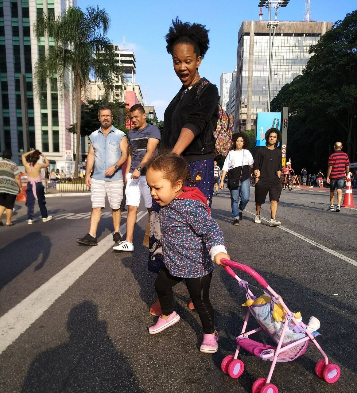 Domingo na Paulista. Foto: Arquivo pessoal