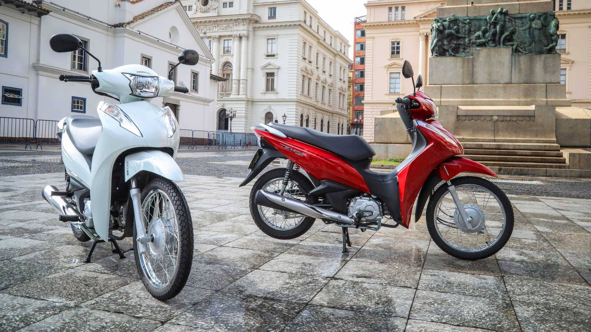 Honda Biz. Foto: Divulgação