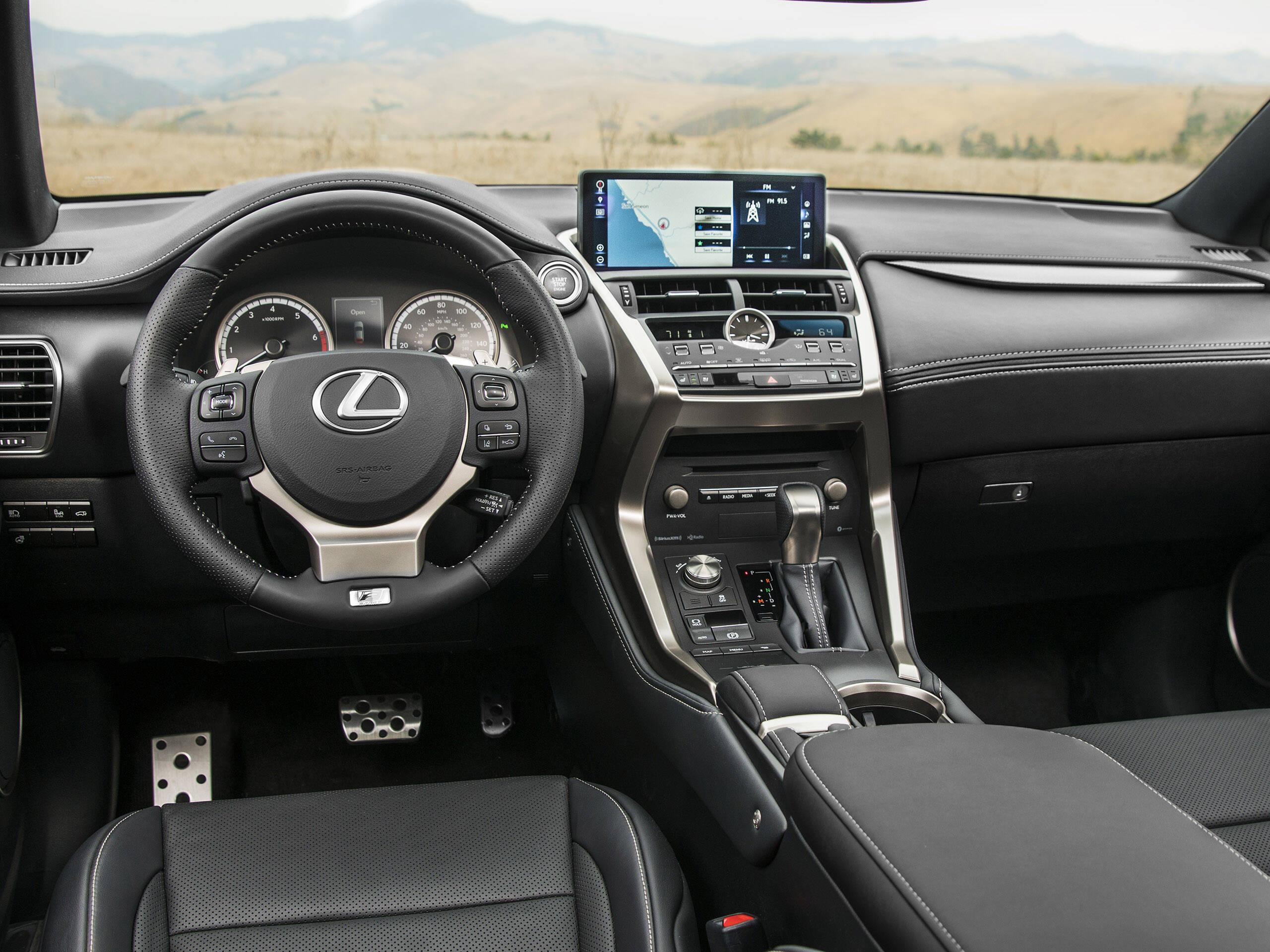 Lexus NX 300. Foto: Divulgação