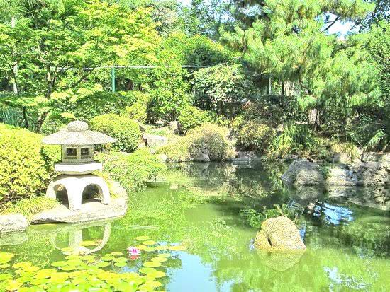 Jardim japonês, em Montevidéu. Foto: Divulgação. Foto: Divulgação