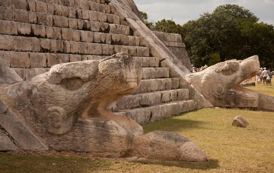 Ruínas Chichen Itza, no México. Foto: Creative Commons