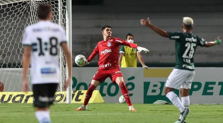 Coritiba x Palmeiras. Foto: Cesar Greco / Palmeiras