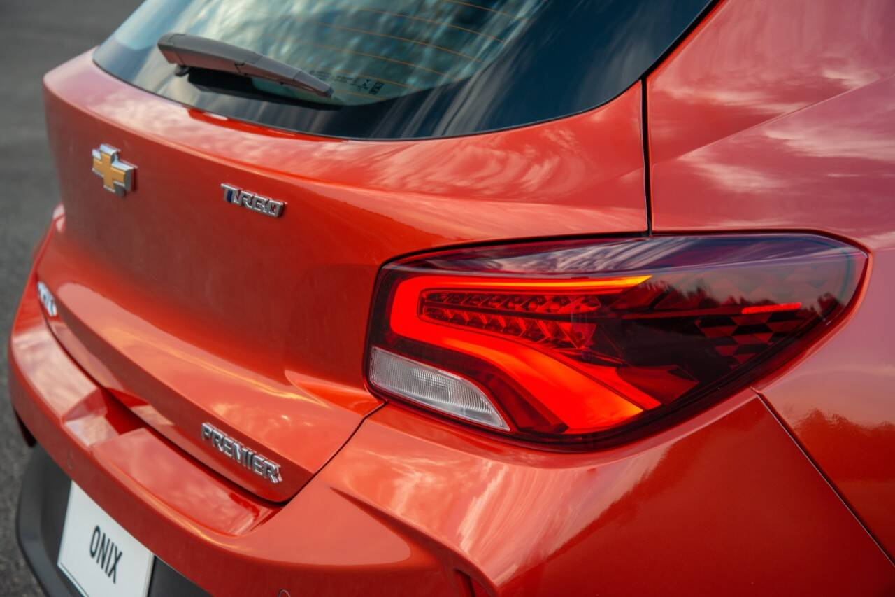 Novo Chevrolet Onix Hatch. Foto: Divulgação