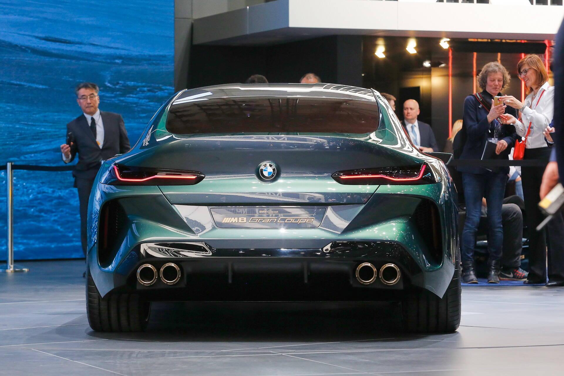 BMW M8 Gran Coupe. Foto: Divulgação
