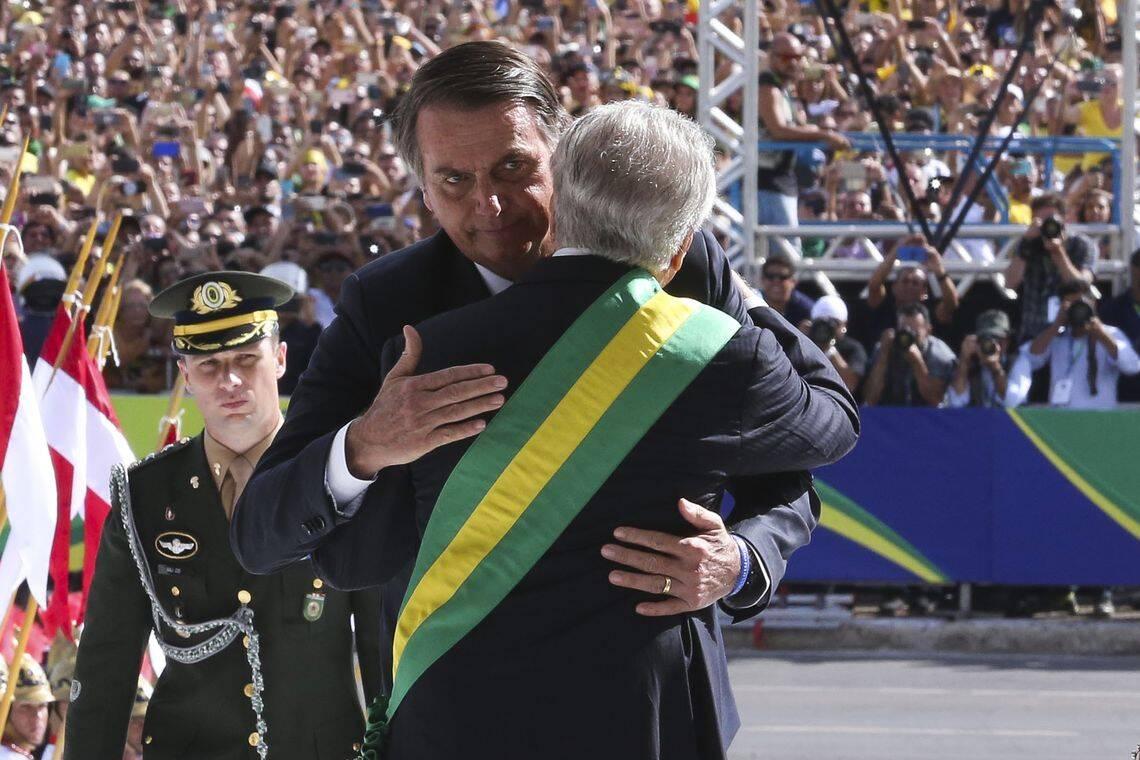 Posse de Jair Bolsonaro foi destaque nos principais jornais do mundo. Foto: Valter Campanato/ABr