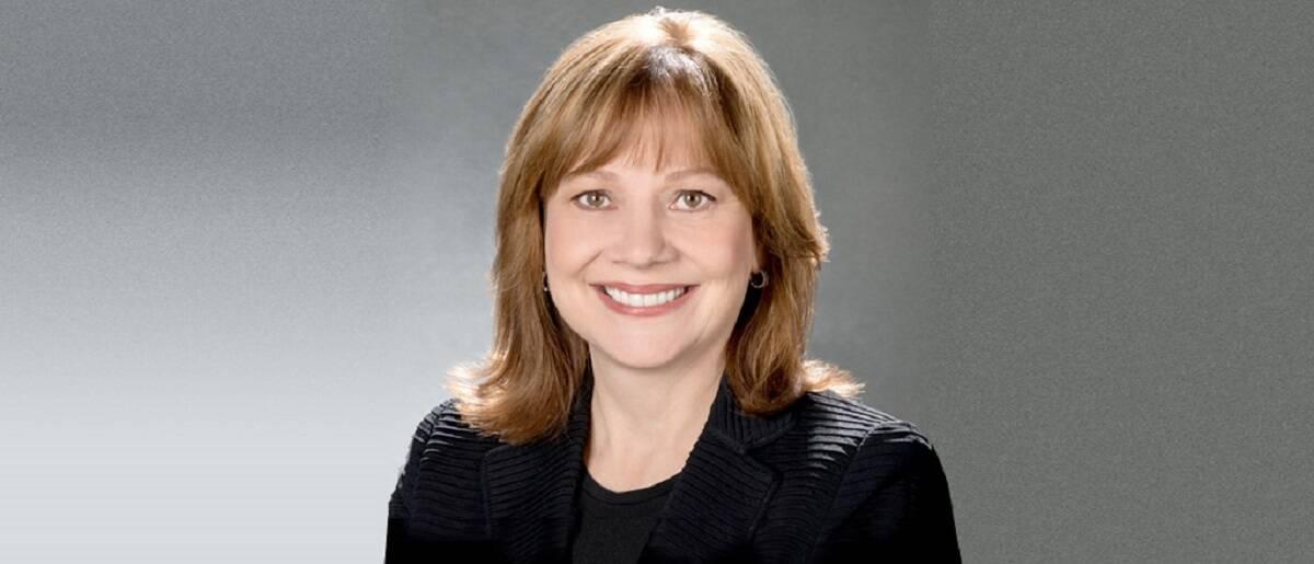 Mary Barra,  diretora executiva e presidente da General Motors Company. Foto: Foto: Divulgacao