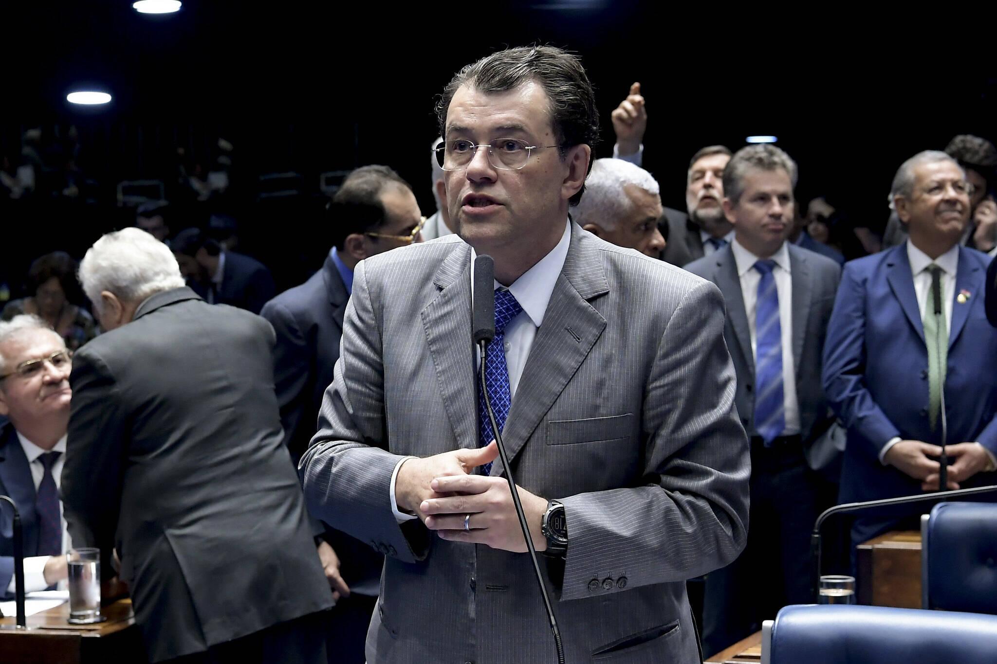 Eduardo Braga (MDB-AM). Foto: Waldemir Barreto/Agência Senado - 3.9.19