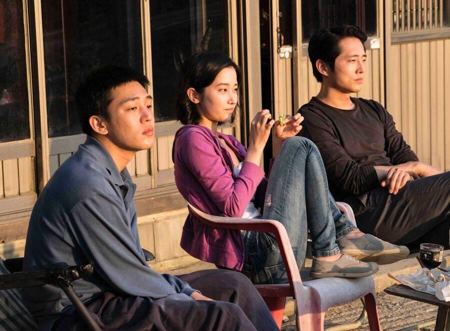 """""""Em Chamas"""", de Chang-dong Lee será exibido na sexta-feira dia 26 de outubro no Cine Caixa Belas Artes - sala 1 - Villa Lobos às 20h30, sessão 714. No sábado, 27, no Cinesala às 16h, sessão 817. Espaço Itaú de Cinema - Frei Caneca 1 no domingo, 28 às 17h20, sessão 927. Na segunda-feira, 29, no Espaço Itaú de Cinema - Pompeia às 21h00, sessão 1022. Quarta-feira, 31, é a vez do Cinearte Petrobrás às 14h, sessão 1129. Foto: Divulgação"""