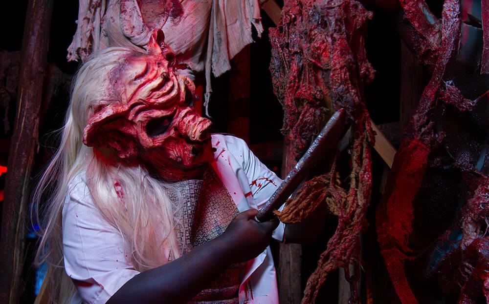 Personagens causam medo nos 20 anos da Hora do Horror. Foto: Anderson Torres