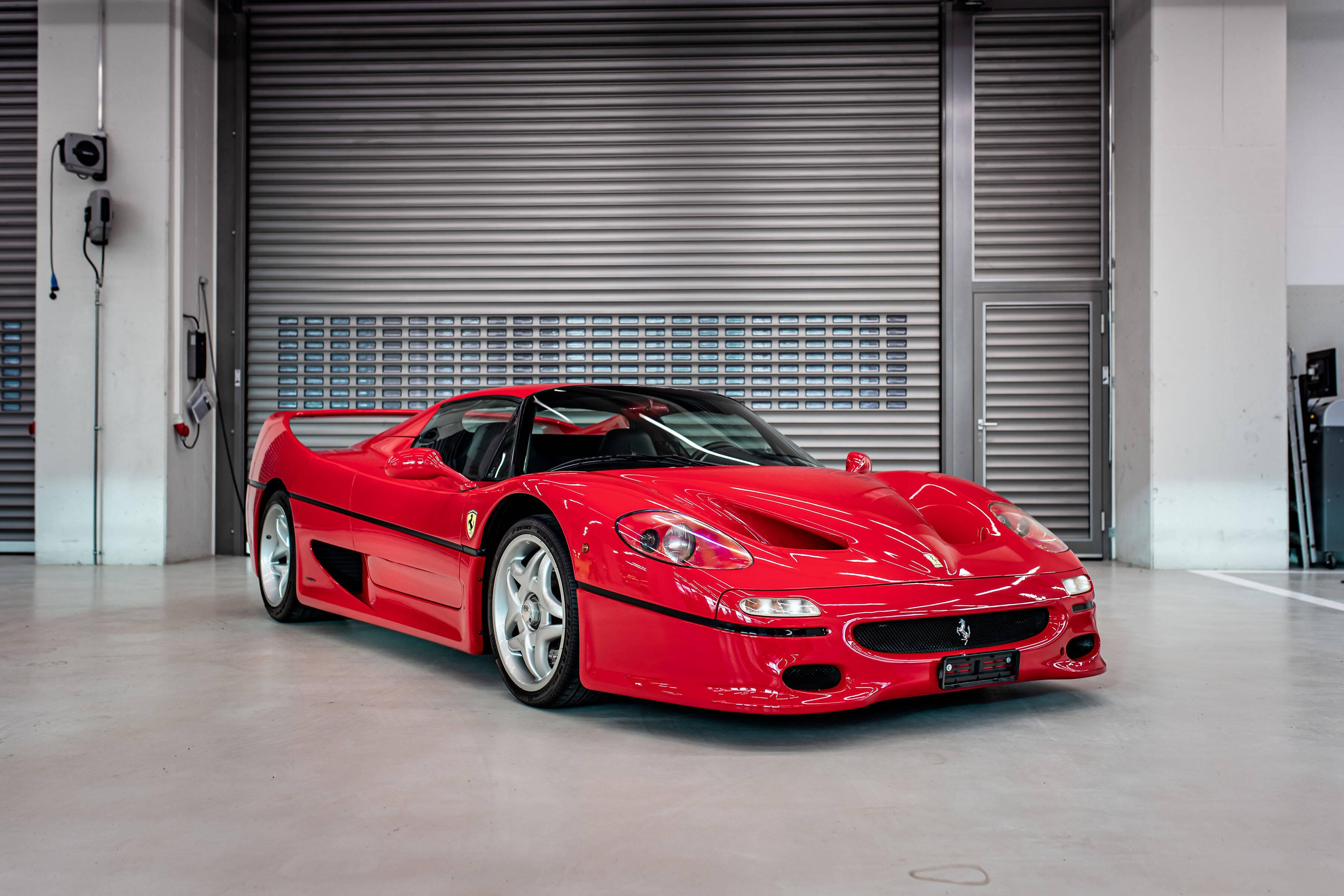 Ferrari F50. Foto: Reprodução/Tom Hartley Jnr