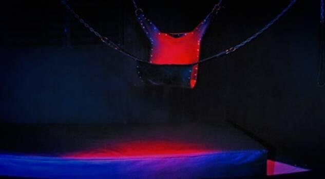 Um dos quartos do Wild Thermas Club. Foto: Divulgação