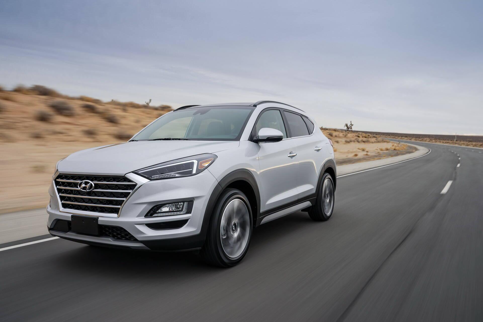 Hyundai Tucson. Foto: Divulgação