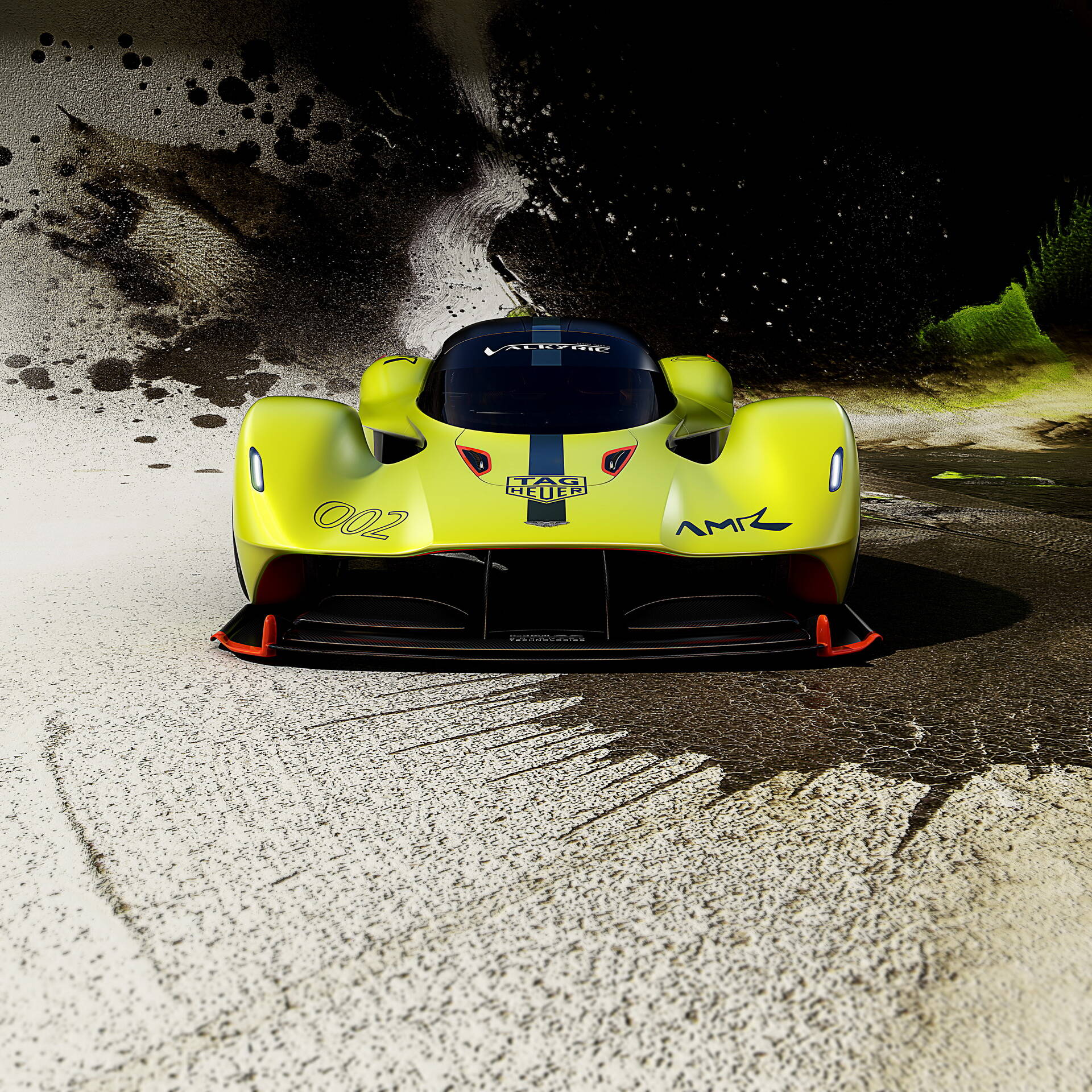 Aston Martin Valkyrie pro. Foto: Divulgação