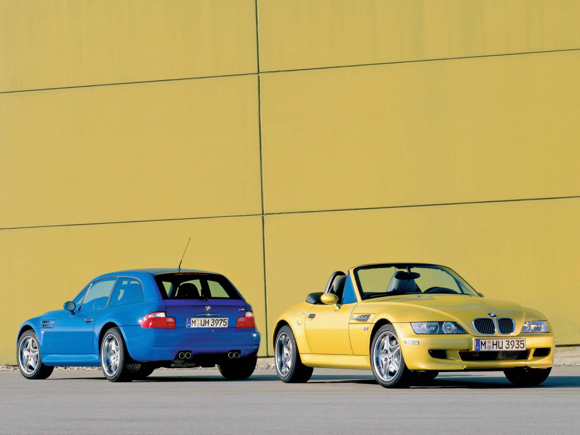 BMW Z3. Foto: Divulgação
