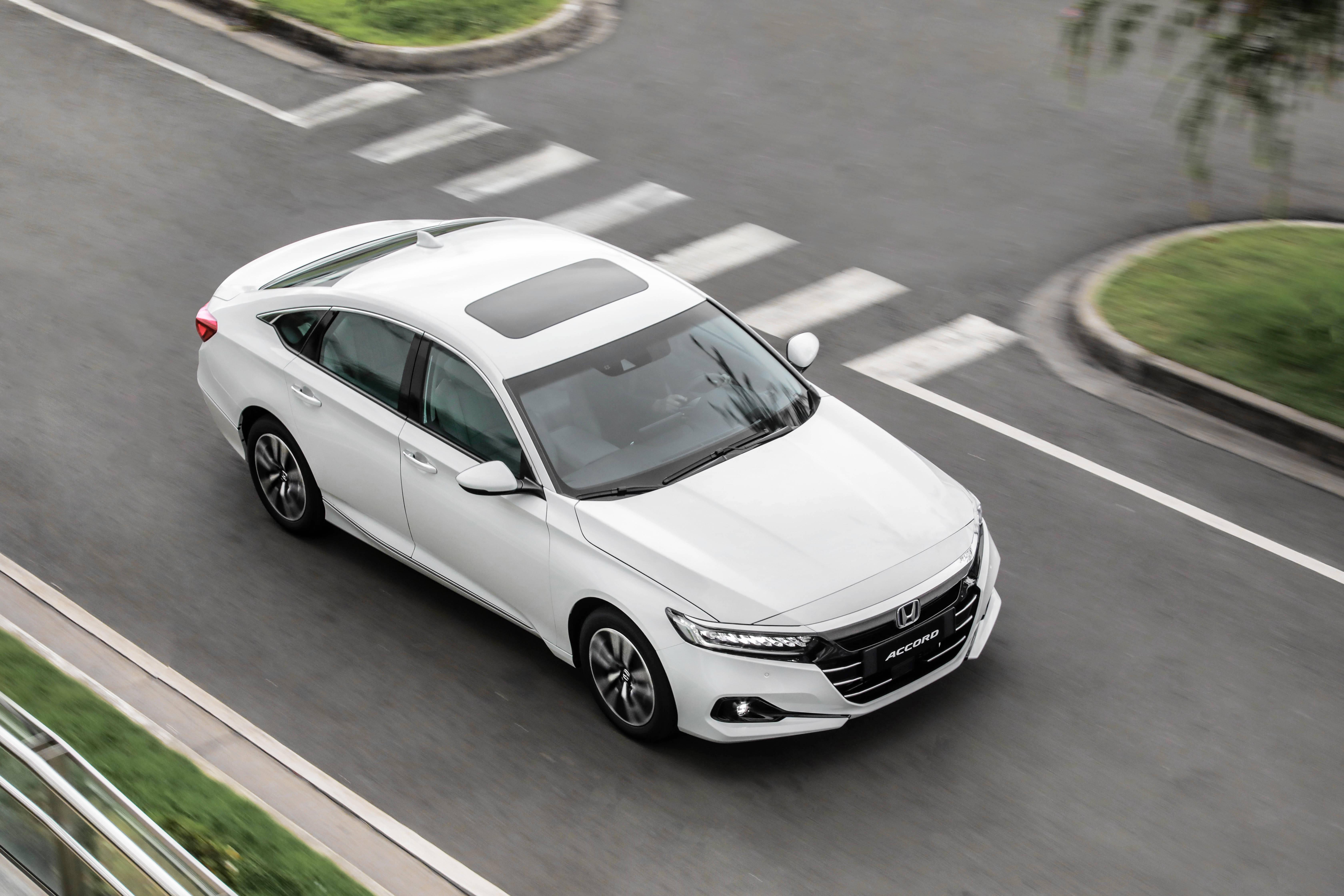 Honda Accord híbrido. Foto: Divulgação