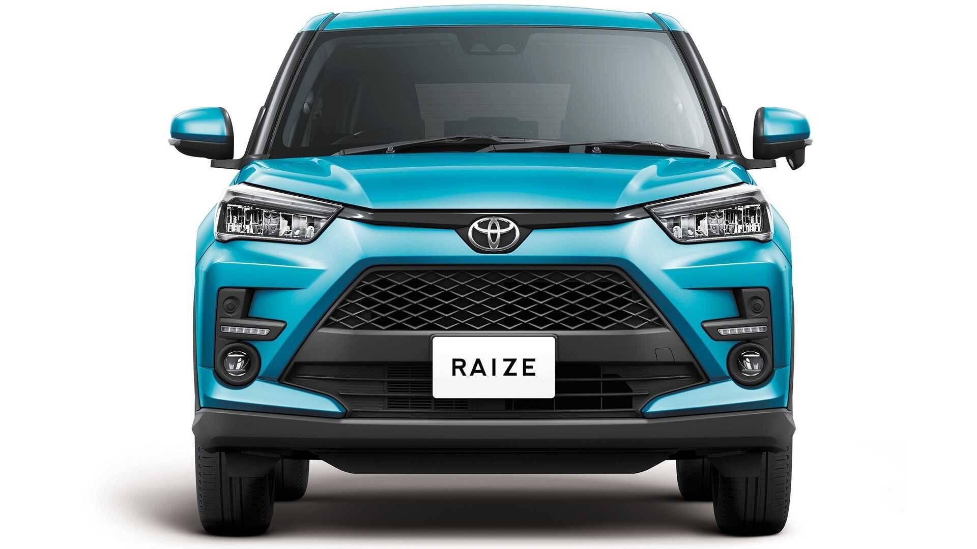 Toyota Raize. Foto: Divulgação