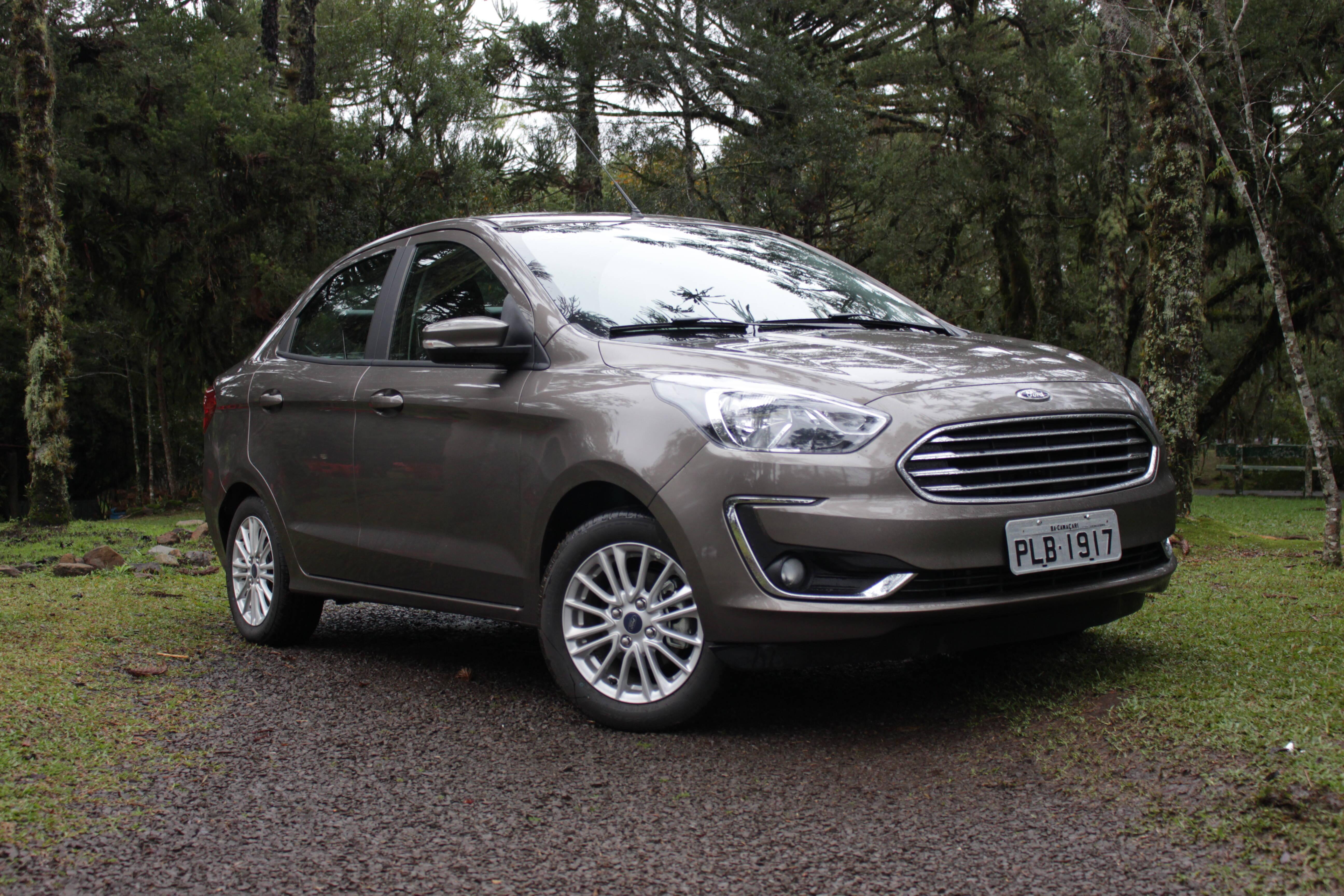 5. Ford Ka Sedan: 15,91%. Foto: Caue Lira/iG